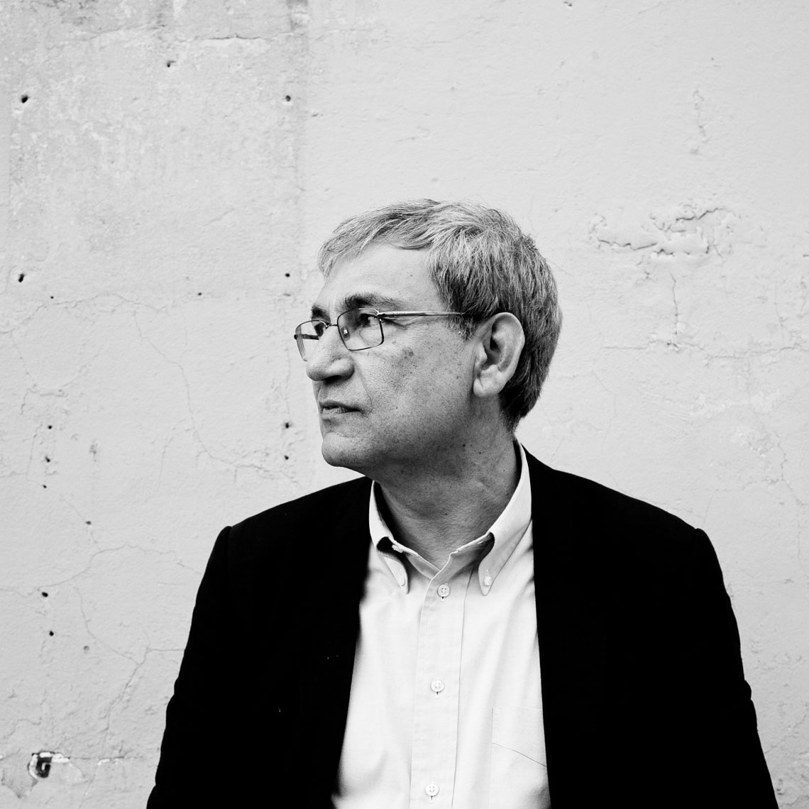 "ITALY. Pietrasanta, Lucca. 8th June 2013. During the ""ANTEPRIME"" festival 2013. The Turkish writer Orhan Pamuk."